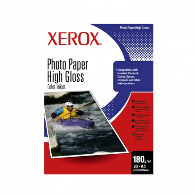 Фото хартия Xerox Photo Paper High Gloss  180 g/m2 10x15 cm